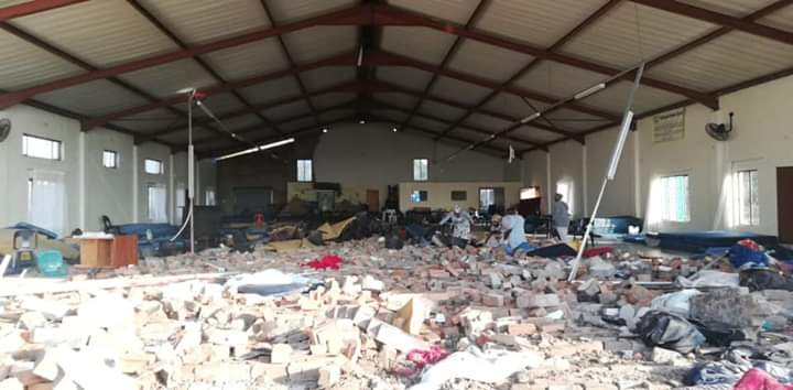 SABC News Chuch Collapse - Two still in ICU, some discharged following church wall collapse