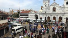 At least one of the victims was killed in Colombo's Cinnamon Grand Hotel, near the prime minister's official residence, where the blast ripped through a restaurant, a hotel.