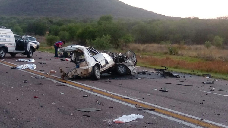 SABC News Crash Twitter @SAPoliceService - Four killed in E Cape head-on collision