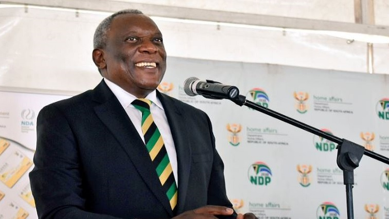 SABC News Cwele.JPG Twitter@HomeAffairsSA - Home Affairs offices will be operational on voting day