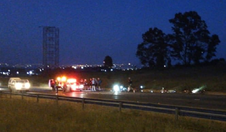 SABC News Cyclist P - Police continue search for motorist who crashed into cyclists