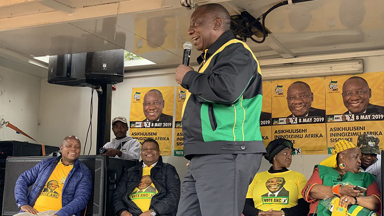SABC News Cyril Ramaphosa kuTwitter ye @MYANC - Ramaphosa promises QwaQwa community SIU will uncover Municipality collapse