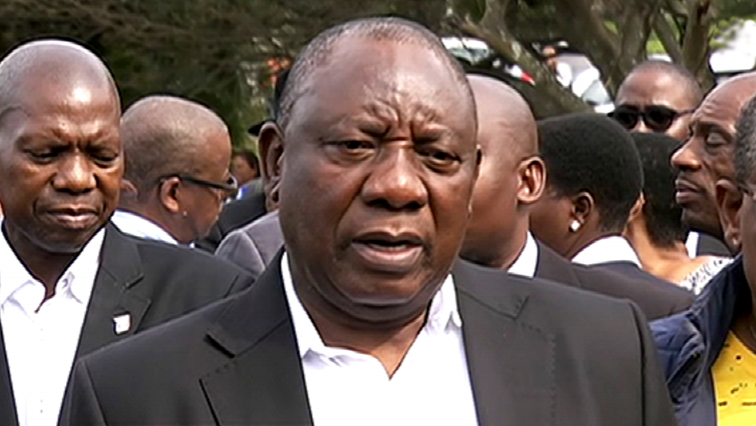 SABC News Cyril Ramaphosa - Ramaphosa visiting Amanzimtoti to assess damages caused by floods