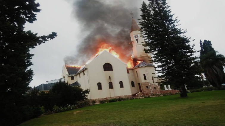 SABC News Dutch Reformed Church fire - Dutch Reformed Church destroyed by fire