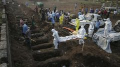 Ebola victims burial