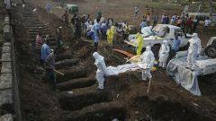 Ebola victims burials