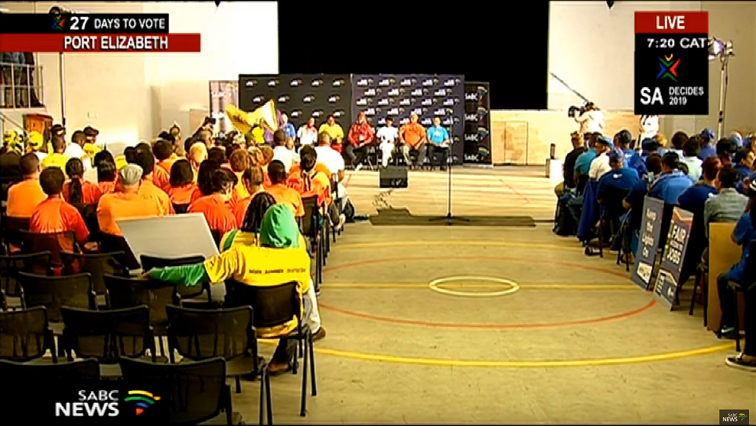 Election Debate Eastern Cape.