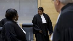 Prosecutor to the International Criminal Court Fatou Bensouda.