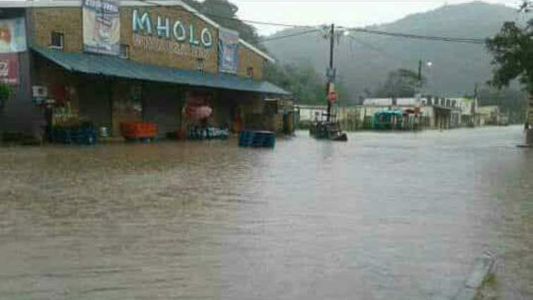 Floods at Port St Johns