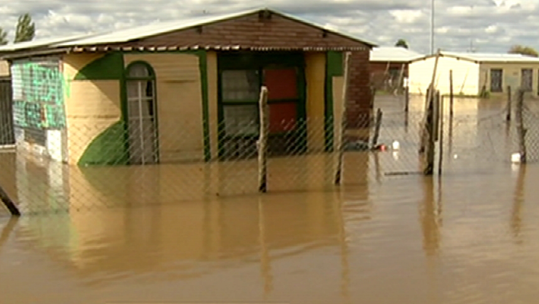 Flooding in the Free State