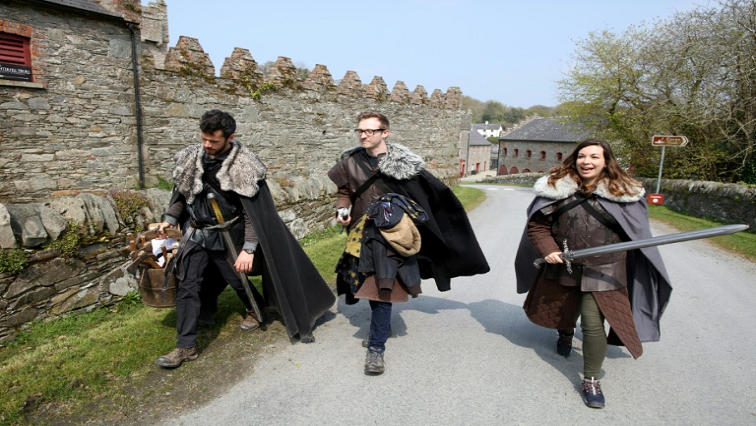 SABC News Game of Thrones AFP - Tourists follow 'Game of Thrones' trail in Northern Ireland
