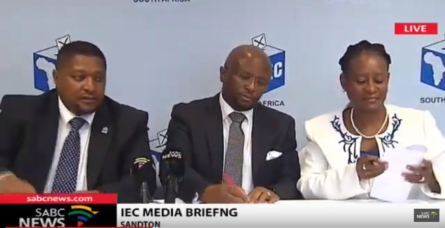 Over 50 objections were lodged, but the IEC upheld the PAC's objection to its own candidate Alton Mphethi, who was sentenced to 18 months in prison.