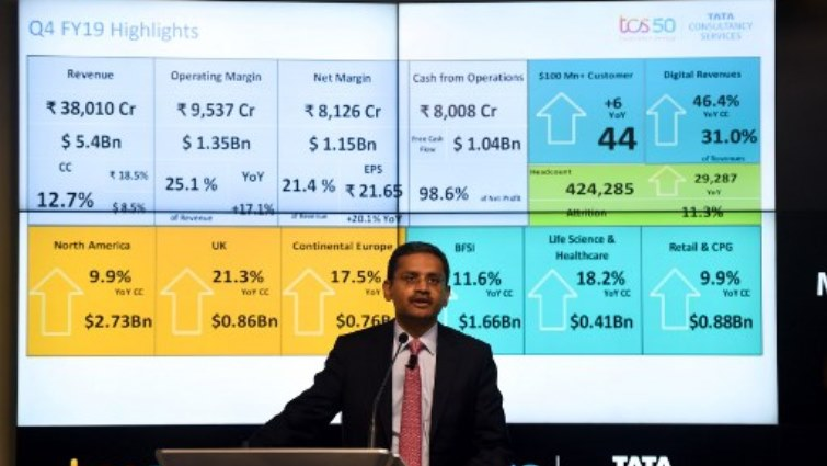 SABC News Infosys AFP - Indian IT giants Infosys, TCS see profits soar