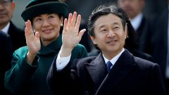 Crown Prince Naruhito and his wife