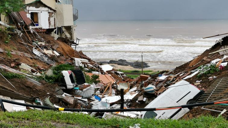 Flood damaged houses