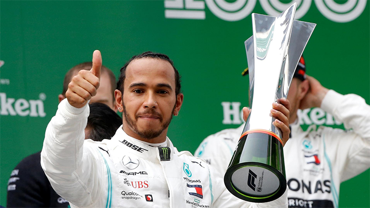 SABC News Lewis Hamilton Reuters - Mercedes nail 'risky' double pit stop to reign in China
