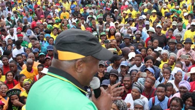 SABC News Mabuza.JPG Twitter@MyANC - We are positive ANC will perform well: Mabuza