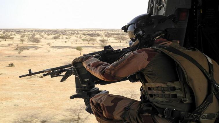 A Mali soldier