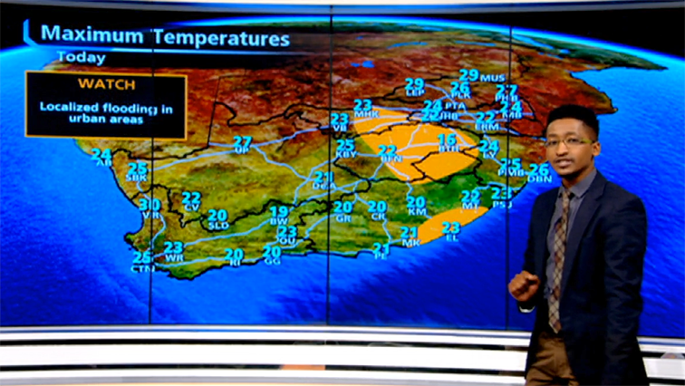 SABC News Max Temps - Rains to continue in KZN