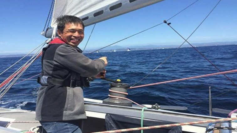SABC News Mitsuhiro Iwamoto Facebook Mitsuhiro Iwamoto - Blind Japanese sailor completes non-stop Pacific voyage
