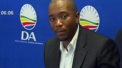 SABC News Mmusi Maimane 2 1 - South Africans now in struggle against ANC: Maimane