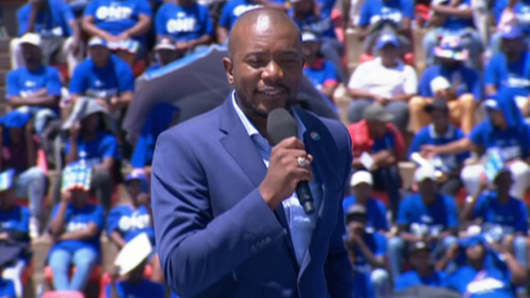 SABC News Mmusi Maimane 2 2 - DA disappointed at lack of resources at Dobsonville Police Station