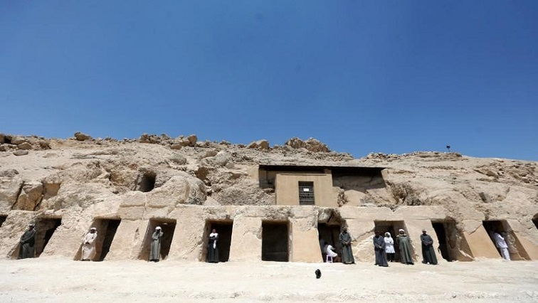 SABC News New Kingdom tomb R - Expansive New Kingdom tomb unveiled in Egypt's Luxor