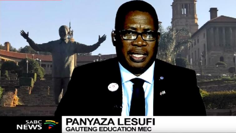 Gauteng Education MEC Panyaza Lesufi