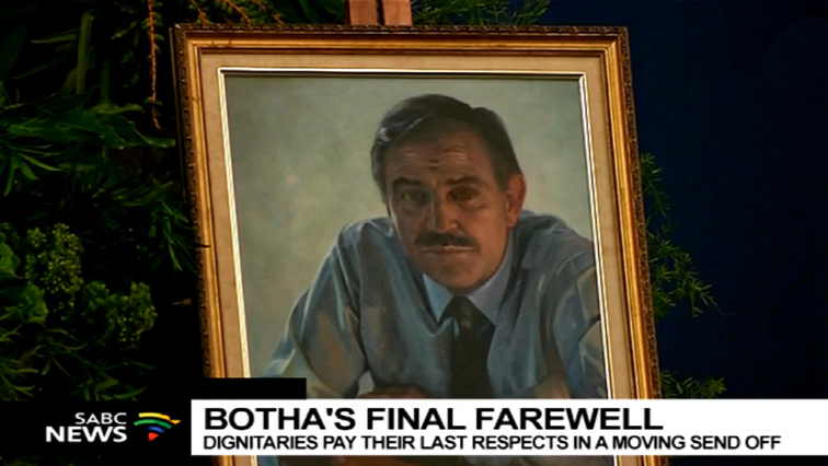 SABC News Pik Botha P - Collection of Pik Botha's personal items to be auctioned