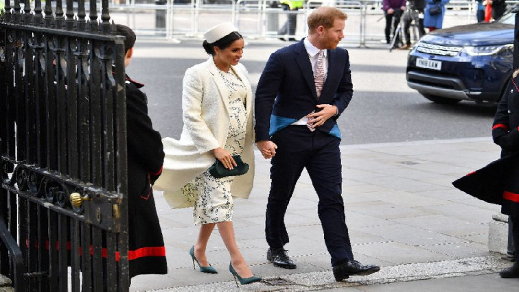 SABC News Prince Harry and wife Megan AFP - Ginger Diana? Betting hots up on Britain's royal baby