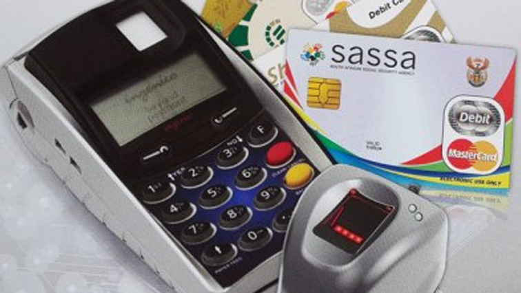 SASSA card next to speed point machine