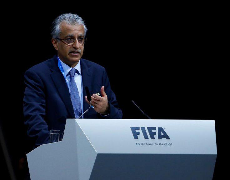 SABC News Salman Reuters 736x577 - Asia's football chief receives another term
