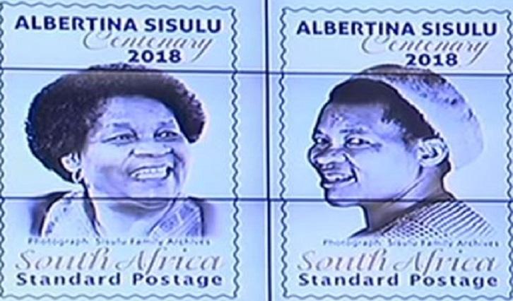 SABC News Sisulu P - Ndabeni-Abrahams unveils MaSisulu's Centenary stamps
