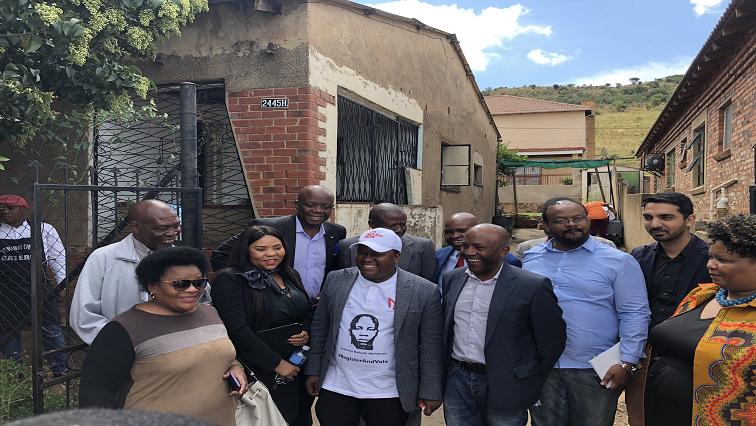 SABC News Solomon Mahlangu Home Twitter @SAgovnews - Solomon Mahlangu's home to become Heritage Site