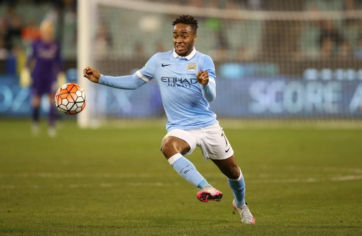 SABC News Sterling Reuters - Man City's Sterling voted Footballer of the Year