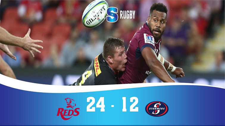 SABC News Super Rubgy Reds Stormers Twitter @SuperRugby - The Stormers suffer third defeat