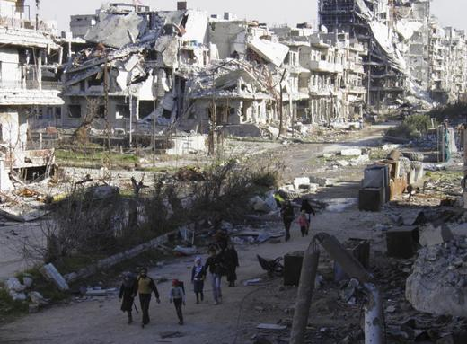The religion-fueled fight in Syria.