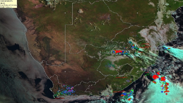 SABC News Thunderstorms in Gauteng SA Weather Services Twitter @SAWeatherService - Severe thundershowers to hit several parts of Gauteng