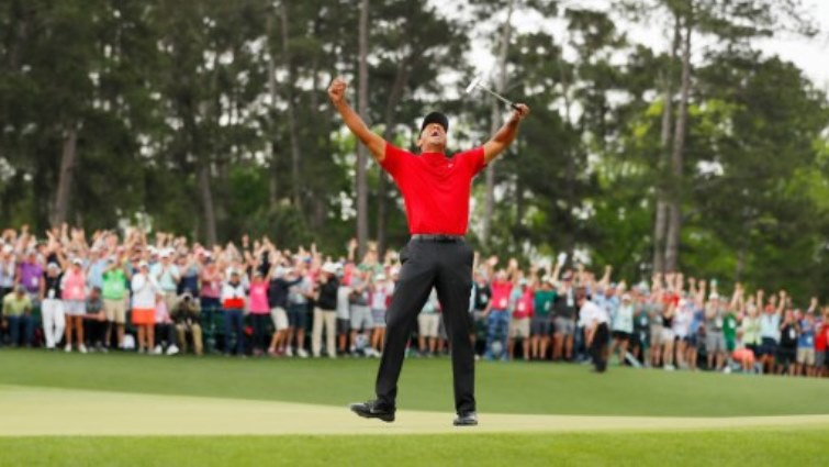 SABC News Tiger Woods AFP - All hail Woods! Trump, Serena, Nicklaus join Tiger Twitter frenzy
