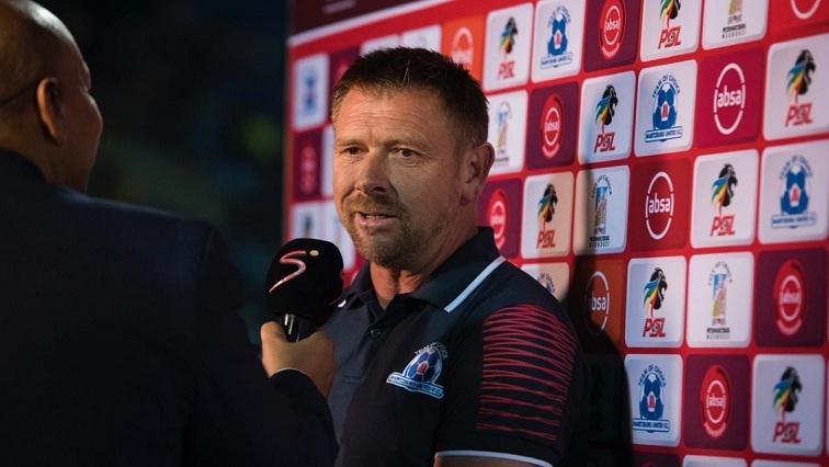 SABC News Tinkler Twitter - Relegation rivals' poor form giving us hope for survival: Tinkler