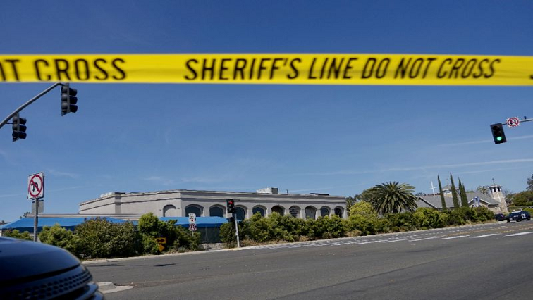 US police yellow tape