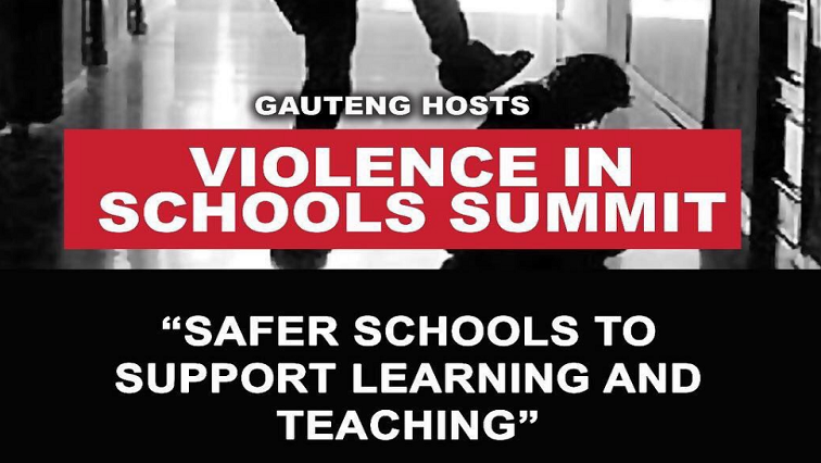 SABC News Voilence in Schools Summit Twitter @EducationGP - Summit to highlight safety in SA schools