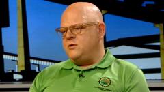 AMCU's Krister Janse van Rensburg