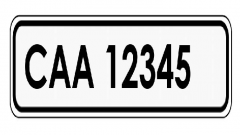 New Cape Town license plates numbers.