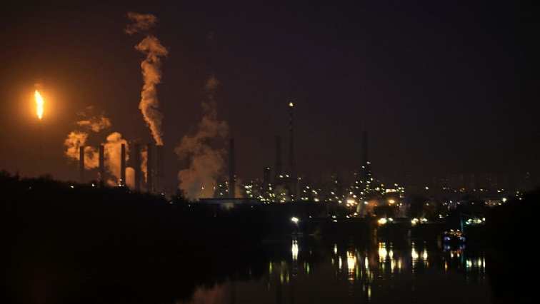 oil plant.