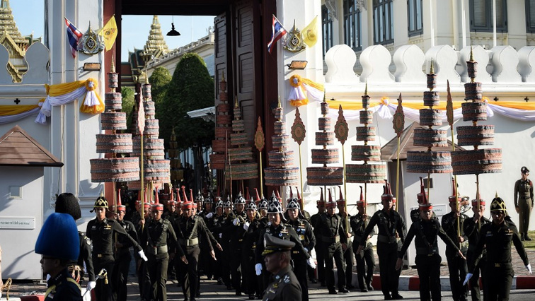 SABC News pomp AFP - Pomp and tradition marks rehearsal for Thai King's coronation
