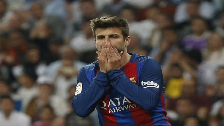SABC News Gerard Pique Reuters - Barca's Pique looking forward to Manchester clash