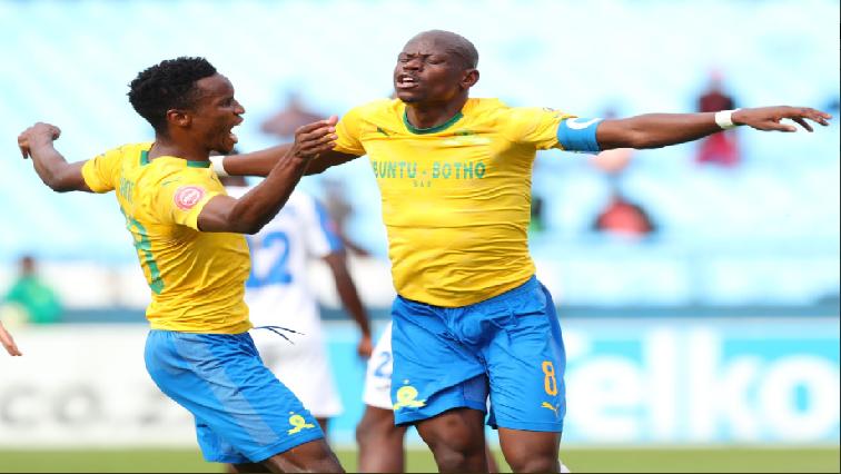 SABC News Hlompo Kekana and Themba Zwane Twitter@Masandawana - Sundowns win over Chippa builds exciting title race