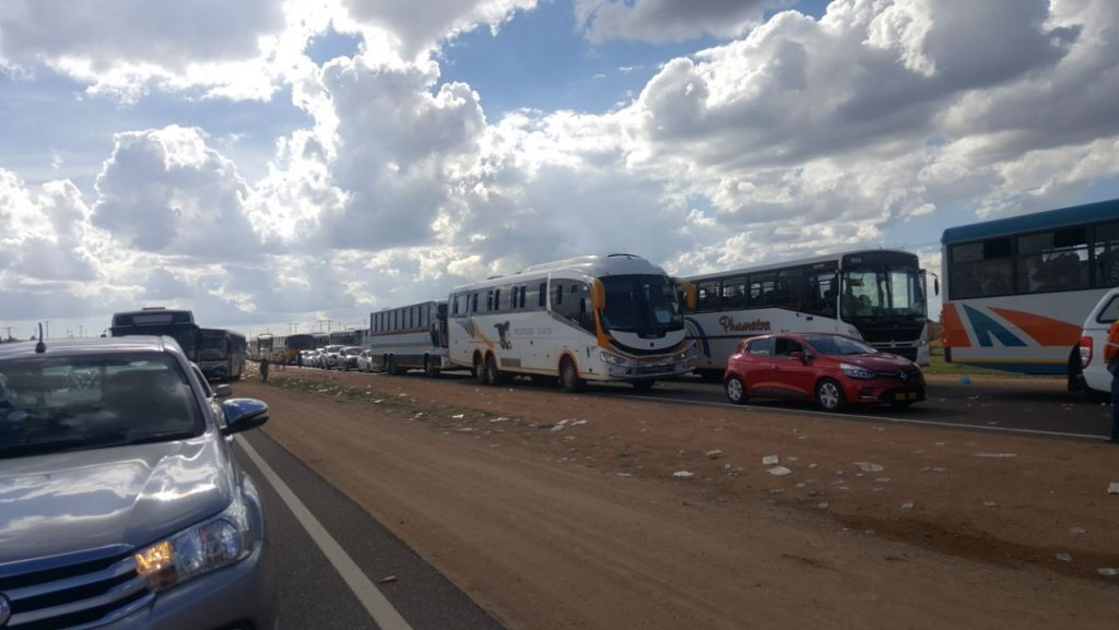 traffic MoriaSABC 1024x577 - Traffic congestion subsides on N1, N4