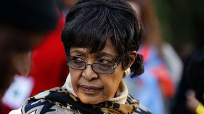 winnie mandelaR - Soweto church remembers Ma Winnie